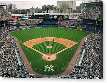 Old Yankee Stadium Photo Canvas Print by Horsch Gallery