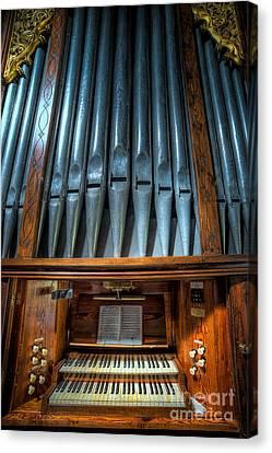 Olde Church Organ Canvas Print