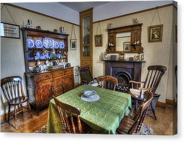 Olde Dining Room Canvas Print by Ian Mitchell