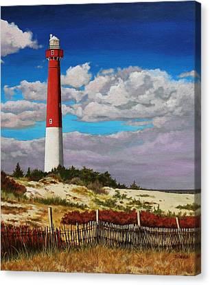 Ole Barney Canvas Print