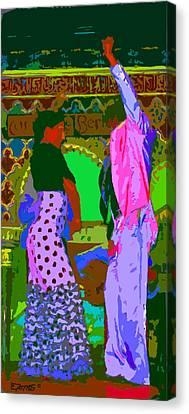 Ole Canvas Print by Edgar Torres