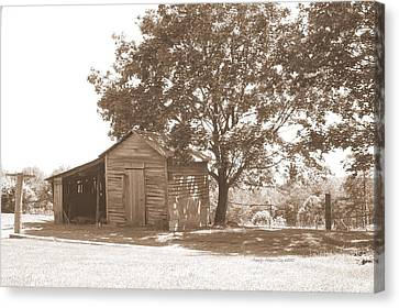 Ole Homeplace Canvas Print by Angelia Hodges Clay