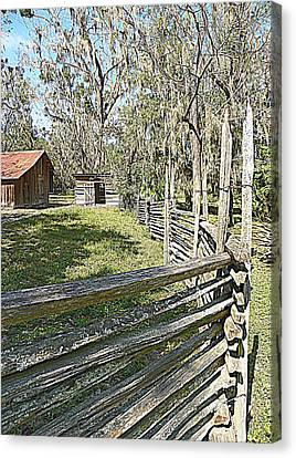 Ole Horse Barn Canvas Print