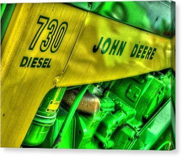 Ole John Deere Canvas Print by Michael Allen