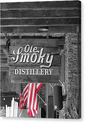 Ole Smoky Distillery Canvas Print by Dan Sproul
