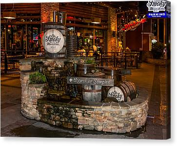 Ole Smoky Tennessee Moonshine Holler Canvas Print by Rob Sellers