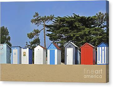 Canvas Print featuring the photograph Oleron 6 by Arterra Picture Library