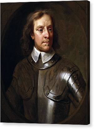 Oliver Cromwell Canvas Print by War Is Hell Store