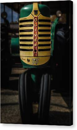 Oliver Row Crop No77 4 Canvas Print by Michael Demagall