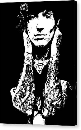 Oliver Sykes Canvas Print