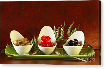 Olives Anyone Canvas Print by Inspired Nature Photography Fine Art Photography