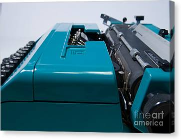 Olivetti Typewriter 12 Canvas Print by Pittsburgh Photo Company