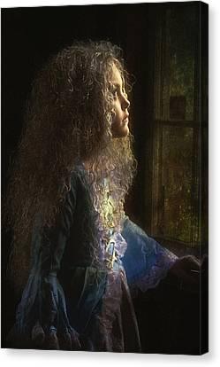 Olivia Canvas Print by John Rivera