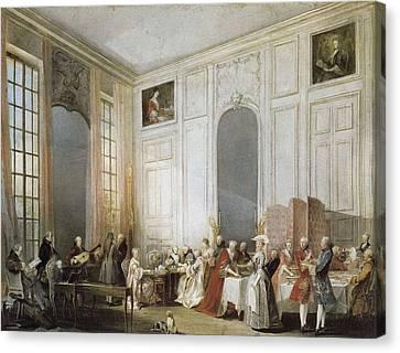 Ollivier, Michel Barth�lemy 1712-1784 Canvas Print by Everett