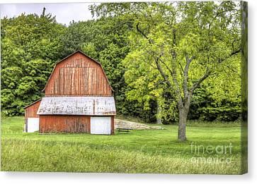 Olsen Farm At Port Oneida Canvas Print by Twenty Two North Photography