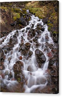 Olympic Cascade 1 Canvas Print by Joe Doherty