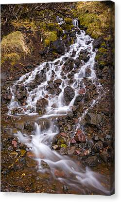 Olympic Cascade 2 Canvas Print by Joe Doherty