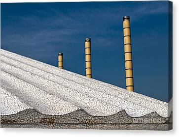Olympic Columns Canvas Print