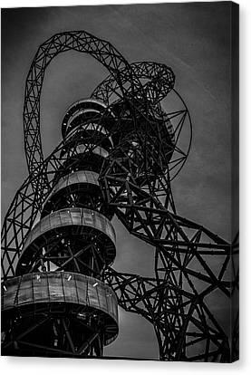 Urban Exploration Canvas Print - Olympic Park London by Martin Newman