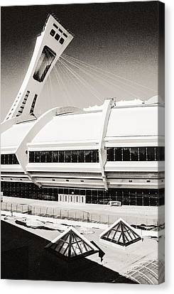 Olympic Stadium Canvas Print by Arkady Kunysz