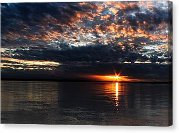 Canvas Print featuring the photograph Olympic Sunstar by David Stine