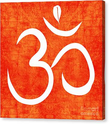 Health Canvas Print - Om Spice by Linda Woods