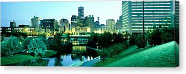 Omaha Ne Canvas Print by Panoramic Images