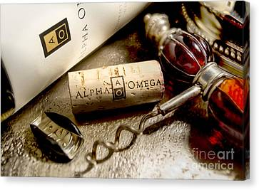 Omega Uncorked Canvas Print