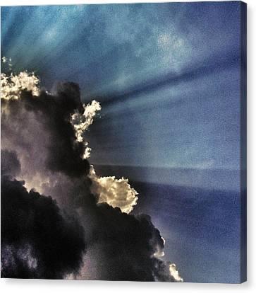 Omen Canvas Print by Marianna Mills