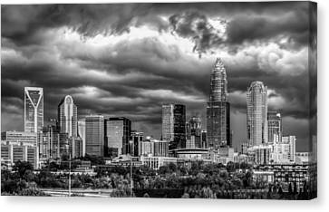 Ominous Charlotte Sky Canvas Print by Chris Austin