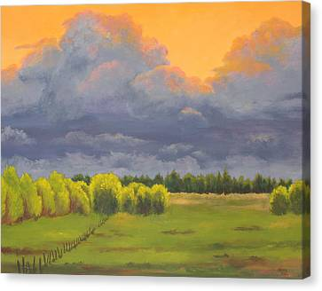 Ominous Forecast Canvas Print by Nancy Jolley
