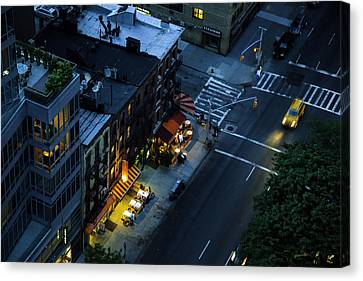On 2nd Avenue - Manhattan Canvas Print by Madeline Ellis