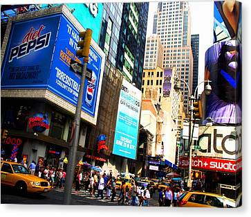 On Broadway Canvas Print