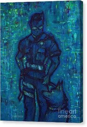 On Command I I Canvas Print by Craig Green