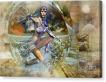 On Distant Shores Canvas Print by Shadowlea Is