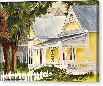 On East Laurel Canvas Print