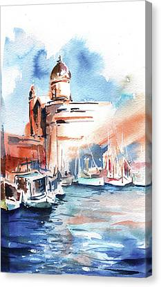 On Fleet Canvas Print