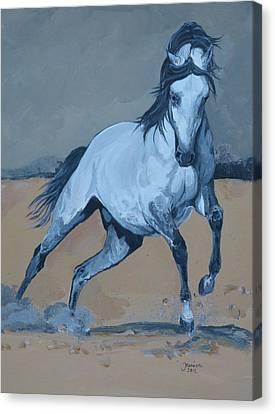 On My Way Canvas Print by Janina  Suuronen