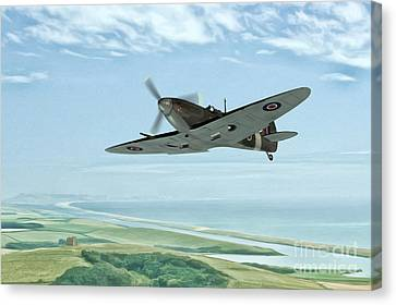 On Patrol Canvas Print by John Edwards
