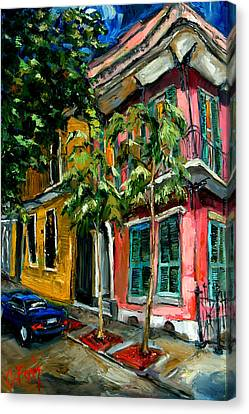 On St. Charles Canvas Print by Carole Foret