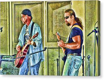 On Stage Canvas Print by Kenny Francis