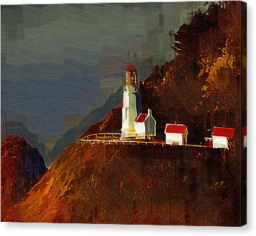 On The Bluff Canvas Print by Kirt Tisdale