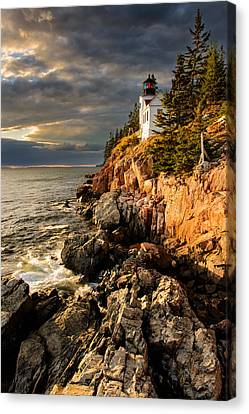 On The Bluff Canvas Print