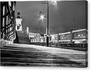On The Boardwalk Canvas Print