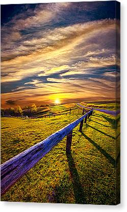 On The Brighter Side Canvas Print by Phil Koch