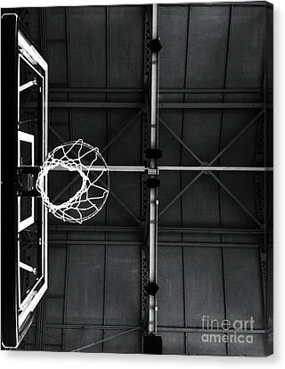 On The Court Canvas Print