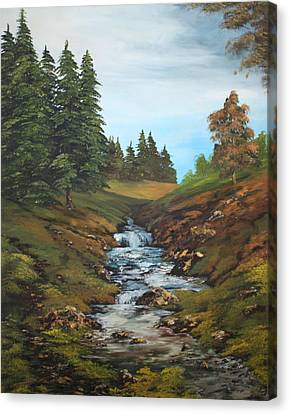 Cannock Chase Canvas Print - On The Edge Of The Forest by Jean Walker