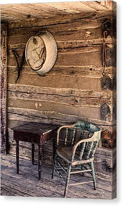 On The Front Porch Canvas Print