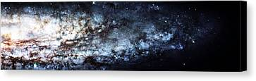 The Hubble Telescope Canvas Print - On The Galaxy Edge by Jennifer Rondinelli Reilly - Fine Art Photography