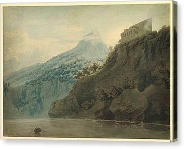 On The Gulf Of Salerno Near Vietri Canvas Print